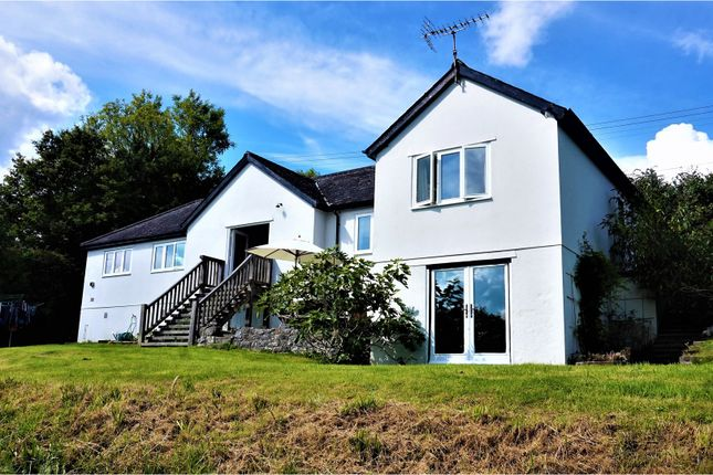 Thumbnail Detached bungalow for sale in Ridge Road, Manaton, Dartmoor, Newton Abbot