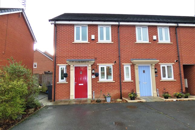 Thumbnail End terrace house for sale in Springfield Crescent, Huyton, Liverpool