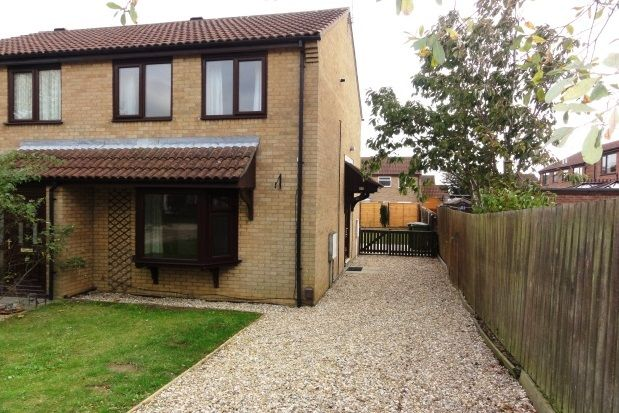 2 bed semi-detached house to rent in Beaufort Close, Glebe Park, Lincoln