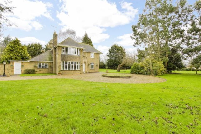 Thumbnail Detached house for sale in Bourne Road, Langtoft, Peterborough, Lincolnshire