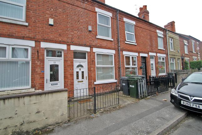 Thumbnail Terraced house to rent in Furlong Avenue, Arnold, Nottingham