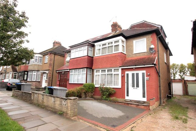 Thumbnail Semi-detached house for sale in Grasmere Avenue, Wembley