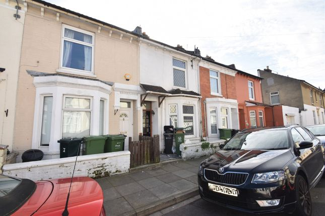 Thumbnail Terraced house to rent in Eastfield Road, Southsea