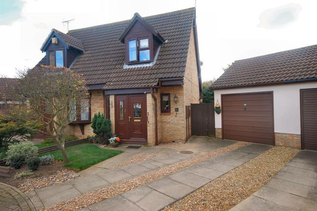 Thumbnail Semi-detached house for sale in Beaufort Drive, Spalding