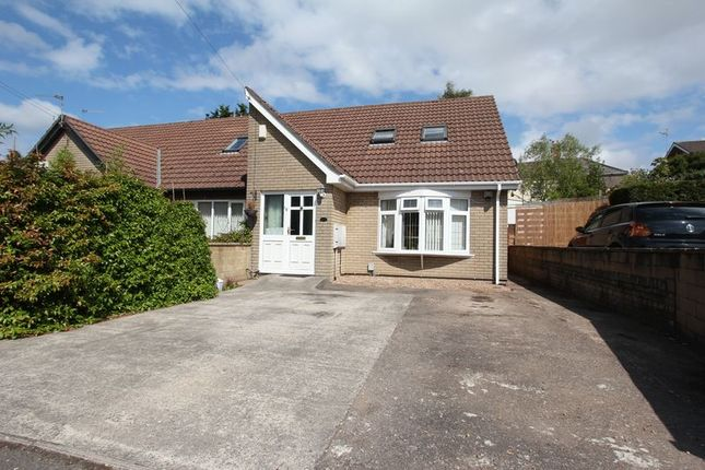 Thumbnail Semi-detached bungalow for sale in Brunel Close, Barry