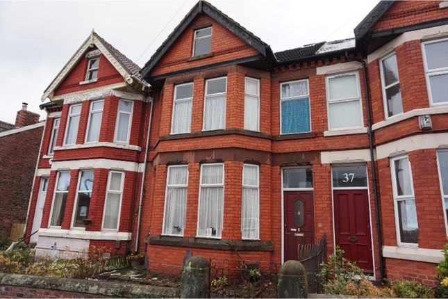 Thumbnail Terraced house for sale in Carlton Road, Birkenhead