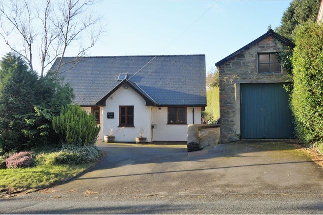 Thumbnail Detached bungalow for sale in Primrose Hill, Aberystwyth