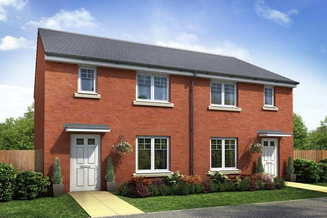 "Thumbnail Semi-detached house for sale in ""Denford"" at High Street, Wollaston, Stourbridge"