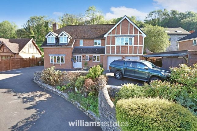 Thumbnail Detached house for sale in Ruthin Road, Gwernymynydd, Mold