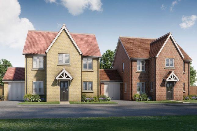 4 bed detached house for sale in Montagu Place, Woodnesborough Road, Sandwich, Kent CT13
