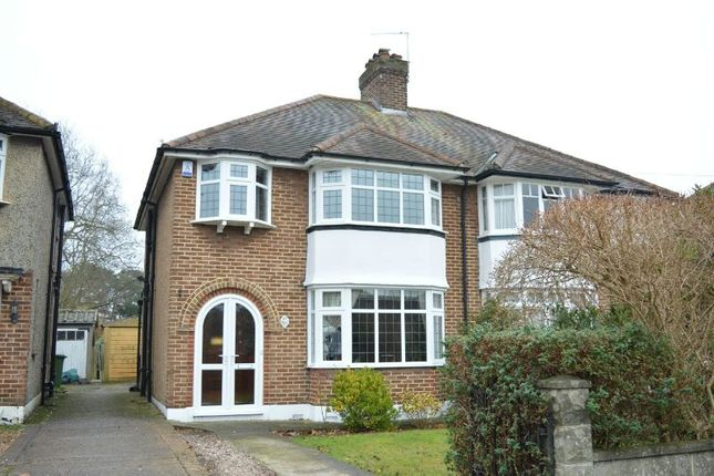 Thumbnail Semi-detached house to rent in Oakland Way, Ewell, Epsom
