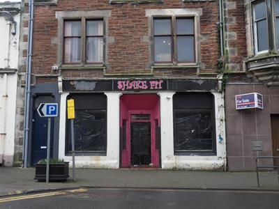 Thumbnail Retail premises for sale in 16 Dalrymple Street, Girvan, South Ayrshire