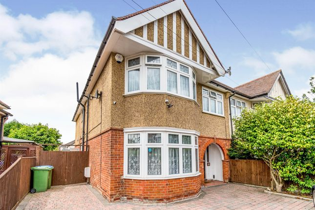 Thumbnail Semi-detached house for sale in Raymond Road, Upper Shirley, Southampton