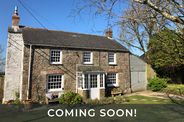 Thumbnail Detached house for sale in Tregonetha, St. Columb