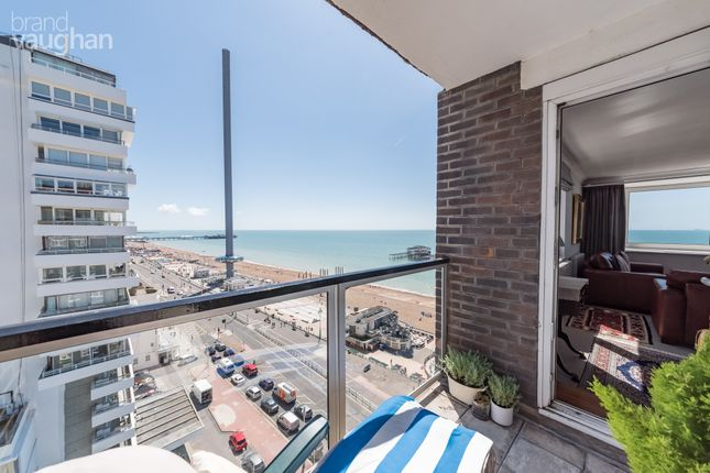 Thumbnail Flat for sale in Cavendish House, Kings Road, Brighton, East Sussex