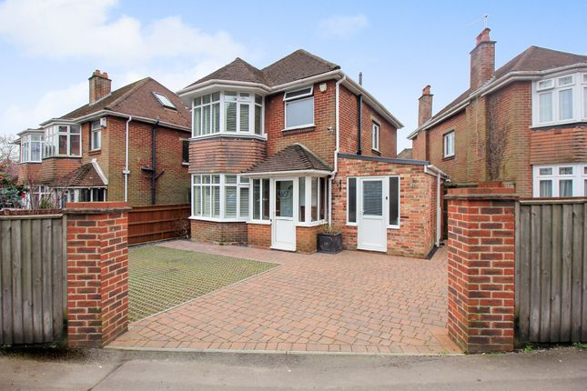 Thumbnail Detached house for sale in Woodmill Lane, Southampton