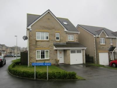 Thumbnail Detached house to rent in Kingfisher Road, Inverurie