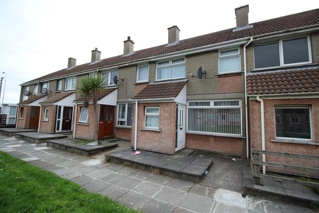 Thumbnail Terraced house to rent in St. Gallen Court, Bangor