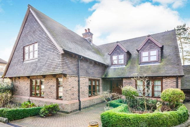 Thumbnail Detached house for sale in Ashby Road East, Bretby, Burton-On-Trent