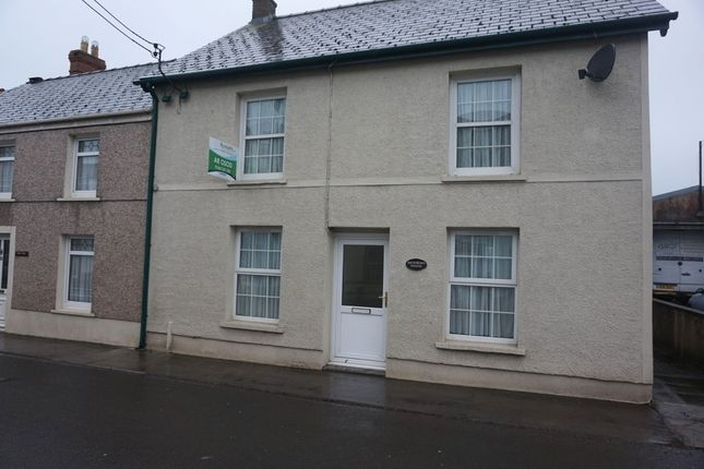 Thumbnail Semi-detached house to rent in Station Road, St. Clears, Carmarthen