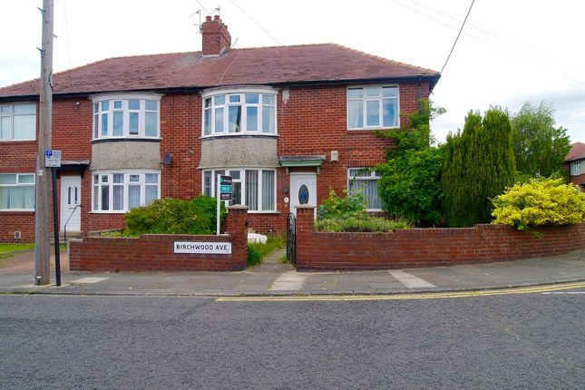 Thumbnail Flat to rent in Birchwood Avenue, High Heaton, Newcastle Upon Tyne