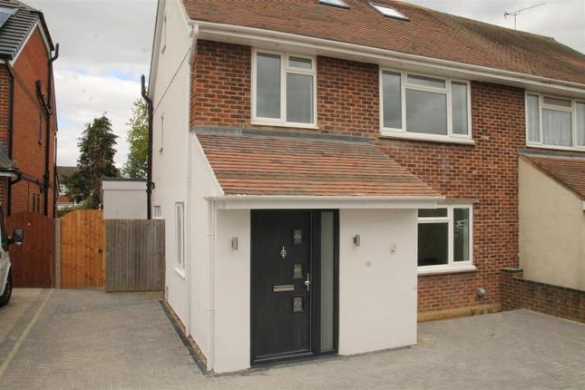 Thumbnail Semi-detached house for sale in Keepers Farm Close, Windsor