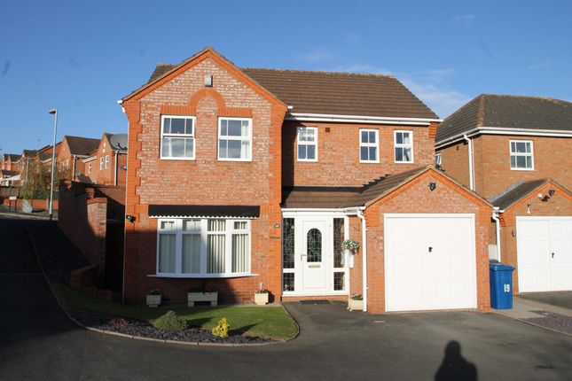 Thumbnail Detached house for sale in Orkney Drive, Wilnecote, Tamworth