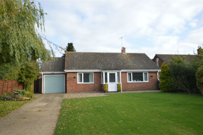 Thumbnail Detached bungalow for sale in Hall Road, Bawdeswell, Dereham