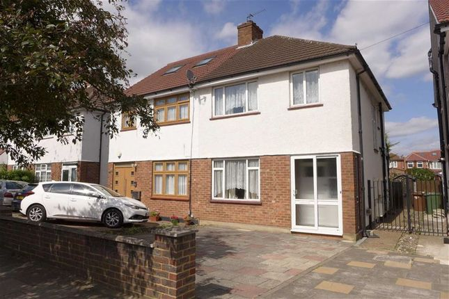 Thumbnail Semi-detached house for sale in Uppingham Avenue, Stanmore, Middlesex