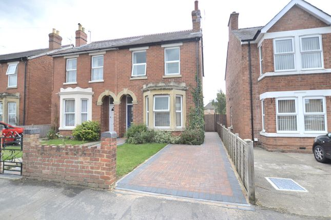 Thumbnail Semi-detached house for sale in Hillview Road, Hucclecote, Gloucester