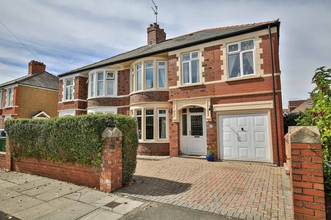 Thumbnail Semi-detached house for sale in St Ina Road, Heath, Cardiff