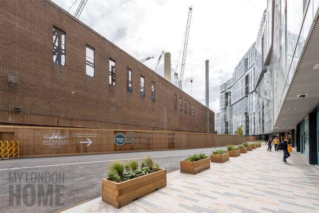 Thumbnail Flat for sale in Switch House West, Battersea Power Station, Battersea, London