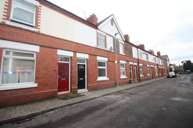 Thumbnail Terraced house to rent in Waverley Terrace, Chester