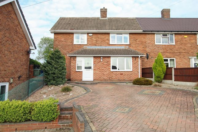Thumbnail Semi-detached house for sale in The Crescent, Brimington, Chesterfield