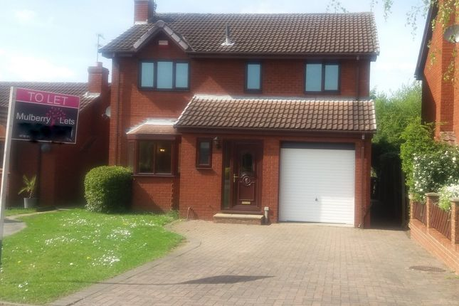 Thumbnail Detached house to rent in Muirfield Avenue, Bessacarr, Doncaster