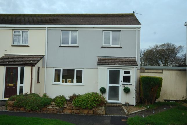 Thumbnail End terrace house for sale in St. Aubyns, Goldsithney, Penzance