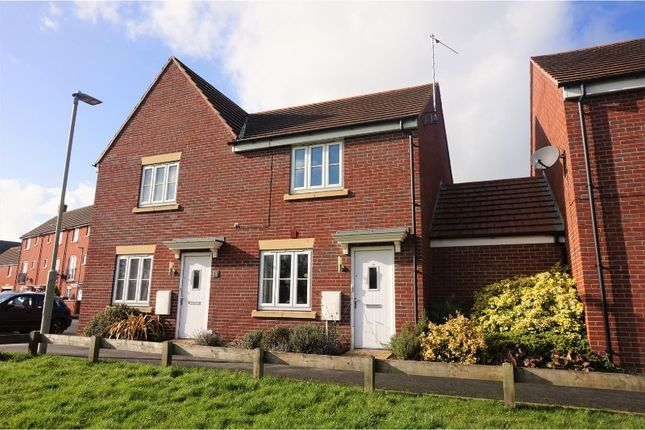 Thumbnail Terraced house for sale in Jetty Road Hempstead, Gloucester