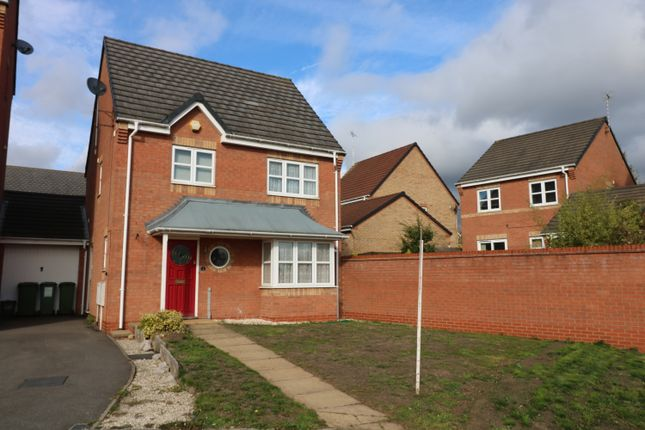 Thumbnail Detached house for sale in Home Avenue, Thorpe Astley, Braunstone, Leicester