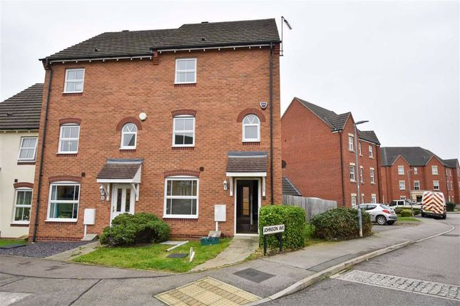 4 bed terraced house to rent in St. Rochus Drive, Wellingborough NN8