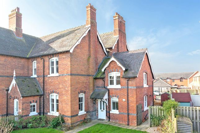 Thumbnail Semi-detached house for sale in Prescott Court, Baschurch, Shrewsbury