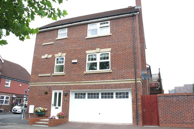 Thumbnail Semi-detached house for sale in Galloway Green, Congleton