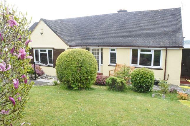 Thumbnail Detached bungalow for sale in Wisteria, Llandevaud, Newport