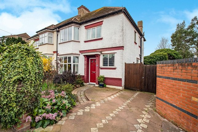 Thumbnail Semi-detached house for sale in Central Avenue, Gravesend, Kent