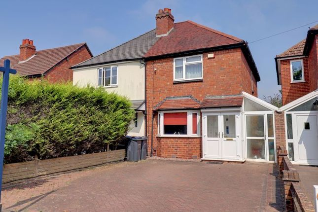 Thumbnail Semi-detached house for sale in Slade Road, Four Oaks, Sutton Coldfield