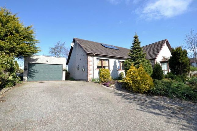 Thumbnail Detached bungalow for sale in Kirkton Of Auchterless, Auchterless, Turriff, Aberdeenshire