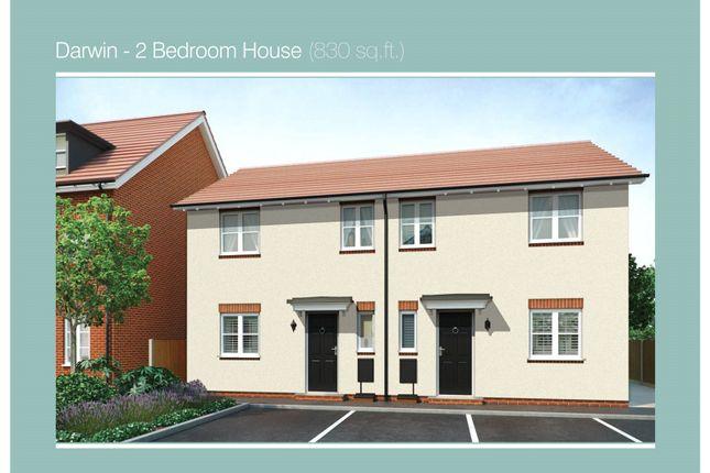 Thumbnail Semi-detached house for sale in Plot 594 Darwin Phase 5, Navigation Point, Cinder Lane, Castleford
