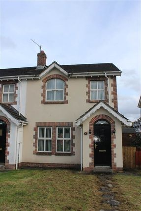 Thumbnail Town house for sale in Blackthorn Grange, Newry