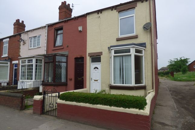 Thumbnail End terrace house to rent in Mill Lane, South Kirkby, Pontefract