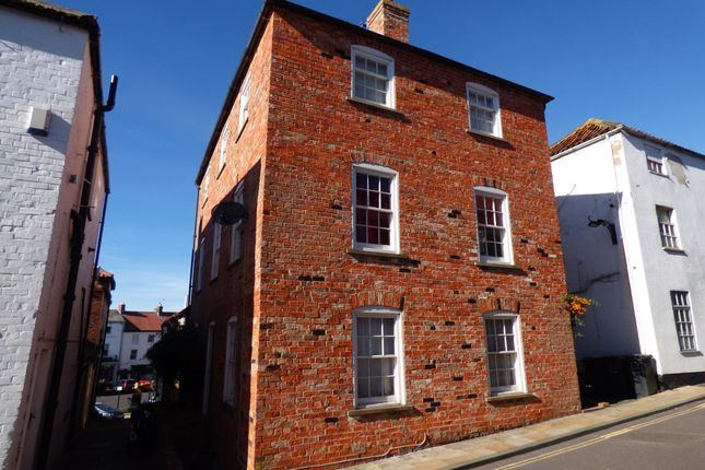 Thumbnail 2 bed flat to rent in South Street, Caistor, Market Rasen