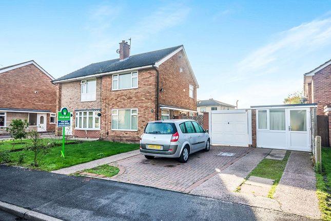 Thumbnail Semi-detached house for sale in Easton Gardens, Wednesfield, Wolverhampton